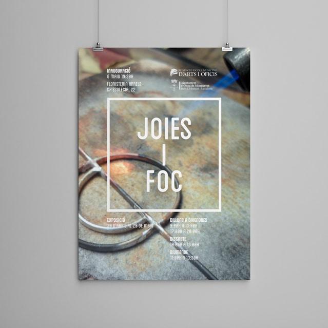 Exposició Joieria - Carteles